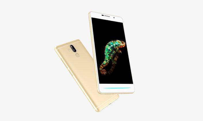 სმარტ ტელეფონი C5501 ოქროს