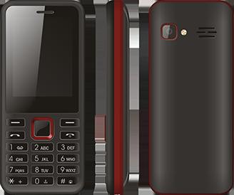 4G mobiiltelefoni klaviatuur