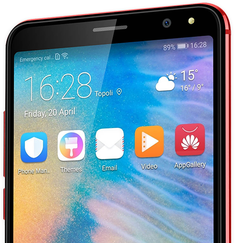 5.7-tommers smartphone