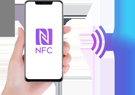 NFC ფუნქცია სმარტფონი