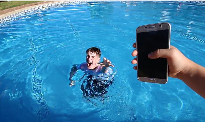 ტელეფონი წყალში