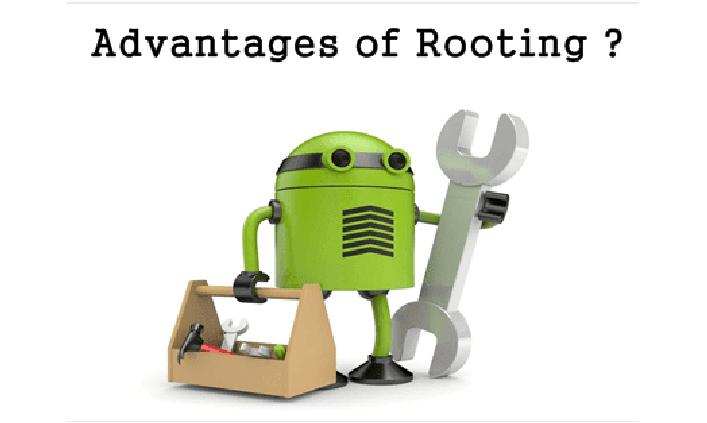 უპირატესობები სასარგებლოდ Rooting Android