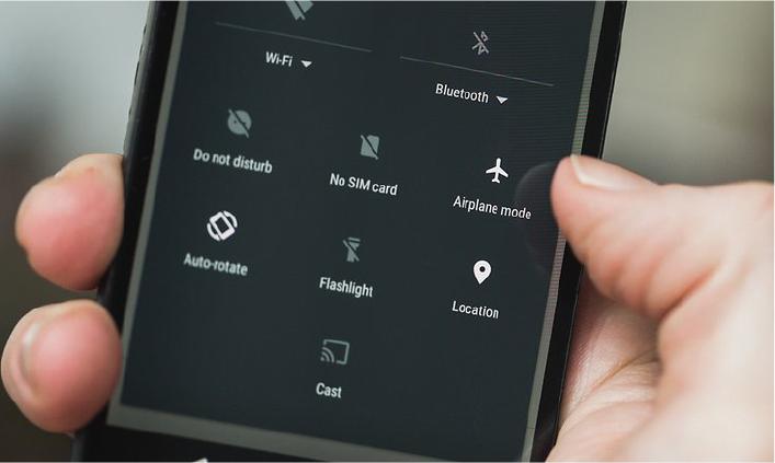 თვითმფრინავის რეჟიმი iPhone