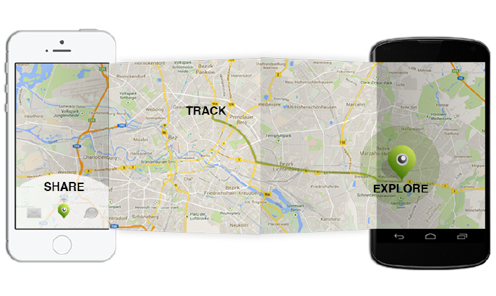Android ტელეფონი Locator