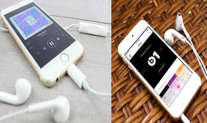 ایپل لائٹنگ ہیڈ فون VS 3.5 ملی میٹر ہیڈ فون