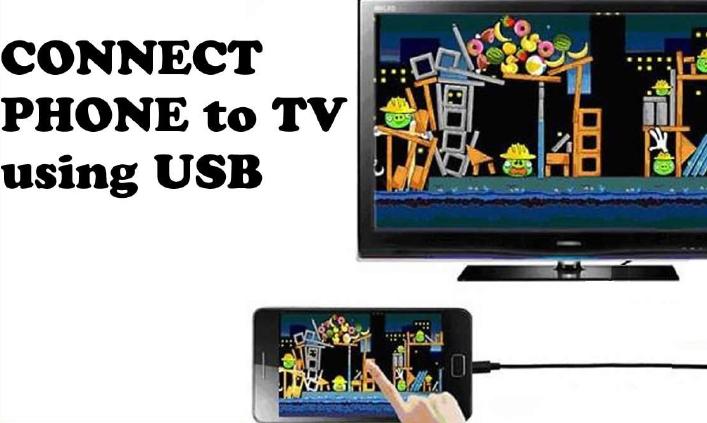 فون کو ٹی وی سے مربوط کریں