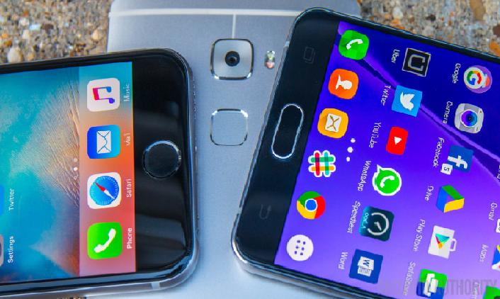 თითის ანაბეჭდის სკანერი Android