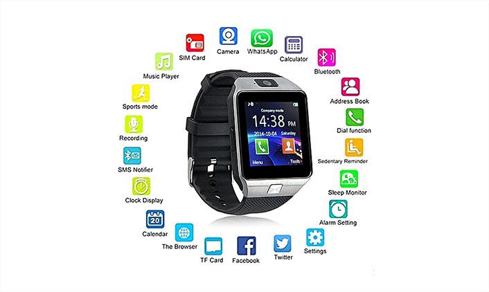 Smart Watch- ის ფუნქციები