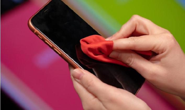 როგორ სუფთა ტელეფონი ეკრანზე