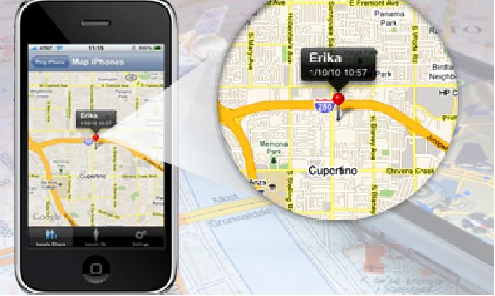 მობილური მდებარეობა Tracker GPS