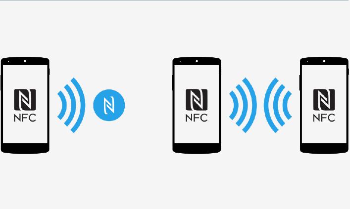 NFC გამოიყენეთ წარწერები