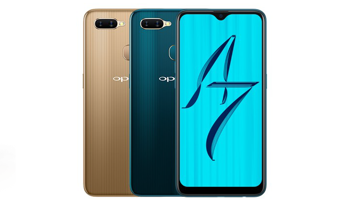 OPPO A7 სმარტფონი
