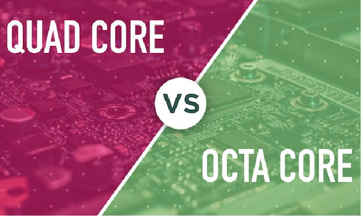 Quad Core gegen Octa Core
