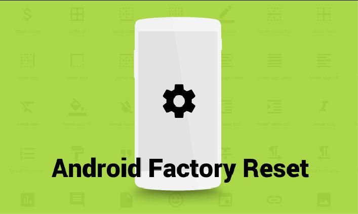 Android ტელეფონის გადატვირთვა