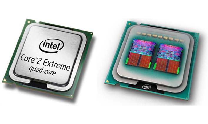 Die CPU von Quad Core