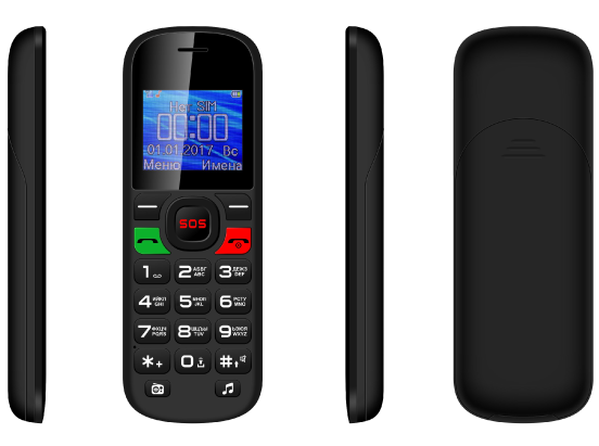 F3 ældre Feature Phone